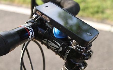 the quad lock iphone bike mount case