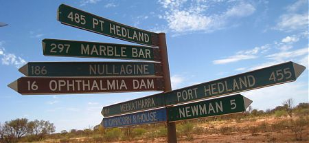 bike touring, Great Northern Highway, Western Australia
