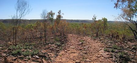 cycle touring, Top Humbert Yard, Gregory National Park, Northern Territory