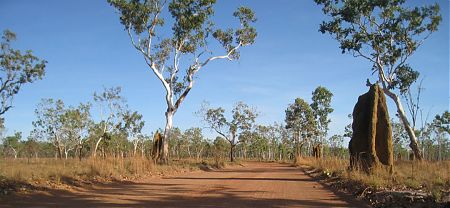 bike touring, Maguk, Kakadu National Park, Northern Territory