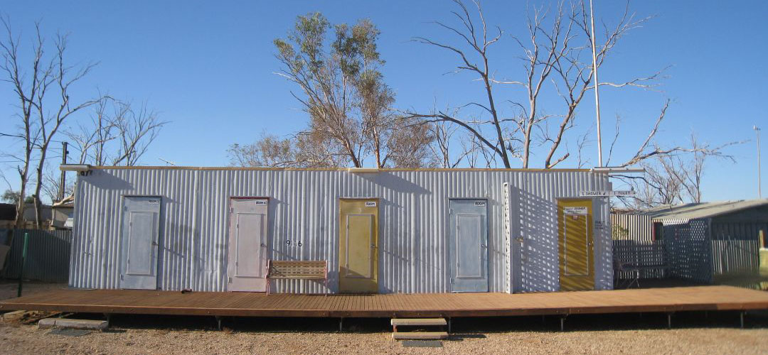 budget accommodation, Pink Roadhouse, Oodnadatta, South Australia