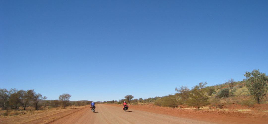 bicycle touring, Mereenie Loop, Northern Territory