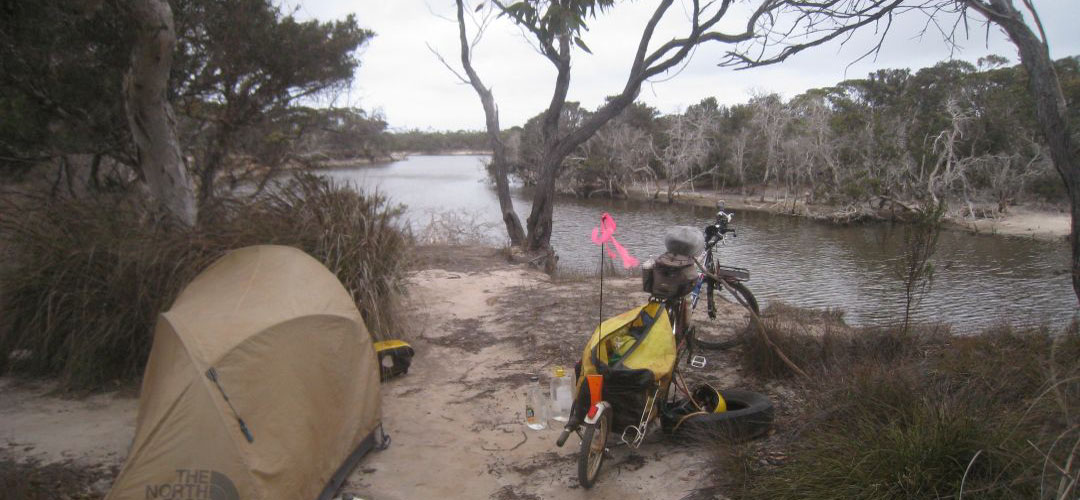 free camping, Munglinup Inlet, south coast of Western Australia