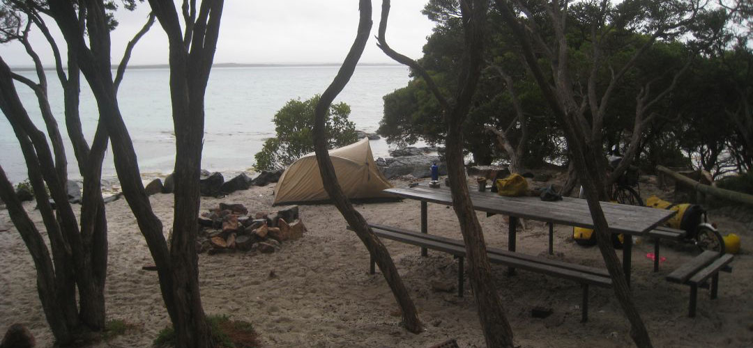 free camp, Starvation Bay, south coast of Western Australia