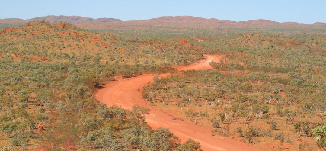 remote biking Tanami Track, Western Australia