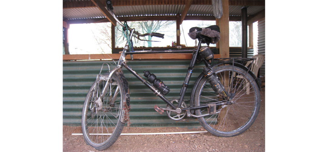 not a mountain bike a touring bike