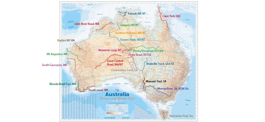 cycle trails Australia 20 epic bike trails