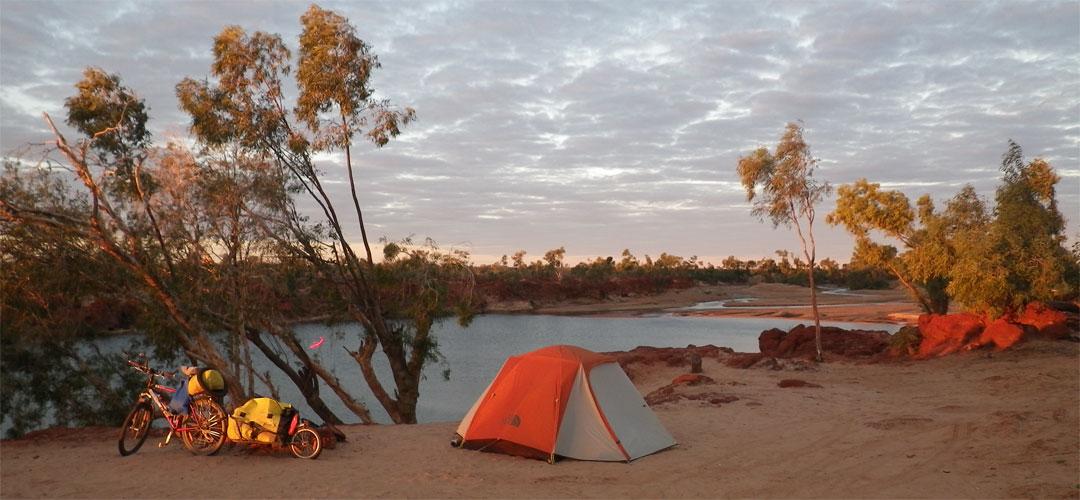 Camping at Rocky Pool